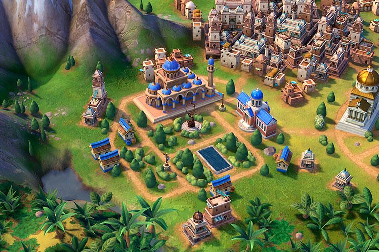 Цивилизация 6 - медресе