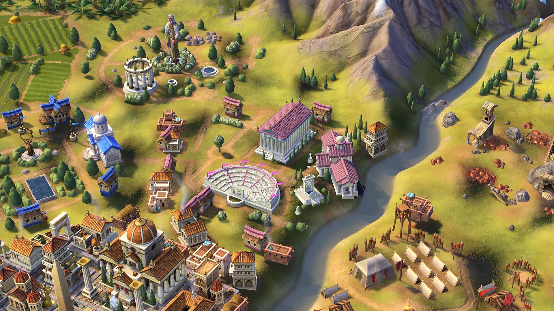 Цивилизация 6 Греция Акрополь