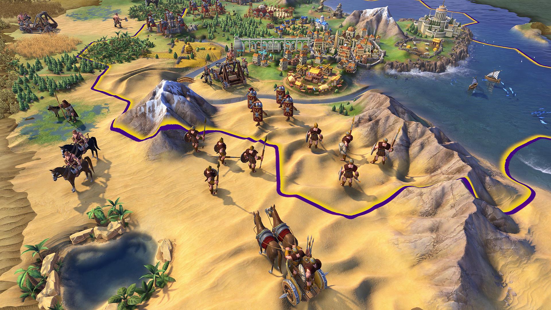 Цивилизация 6 - римский легион