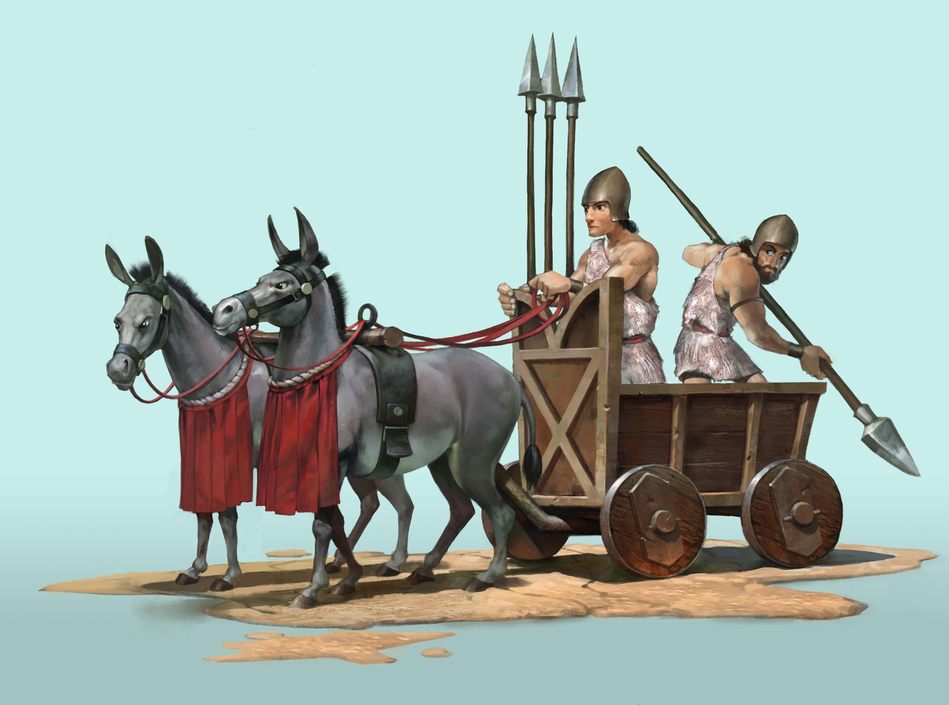 Цивилизация 6 - боевая колесница