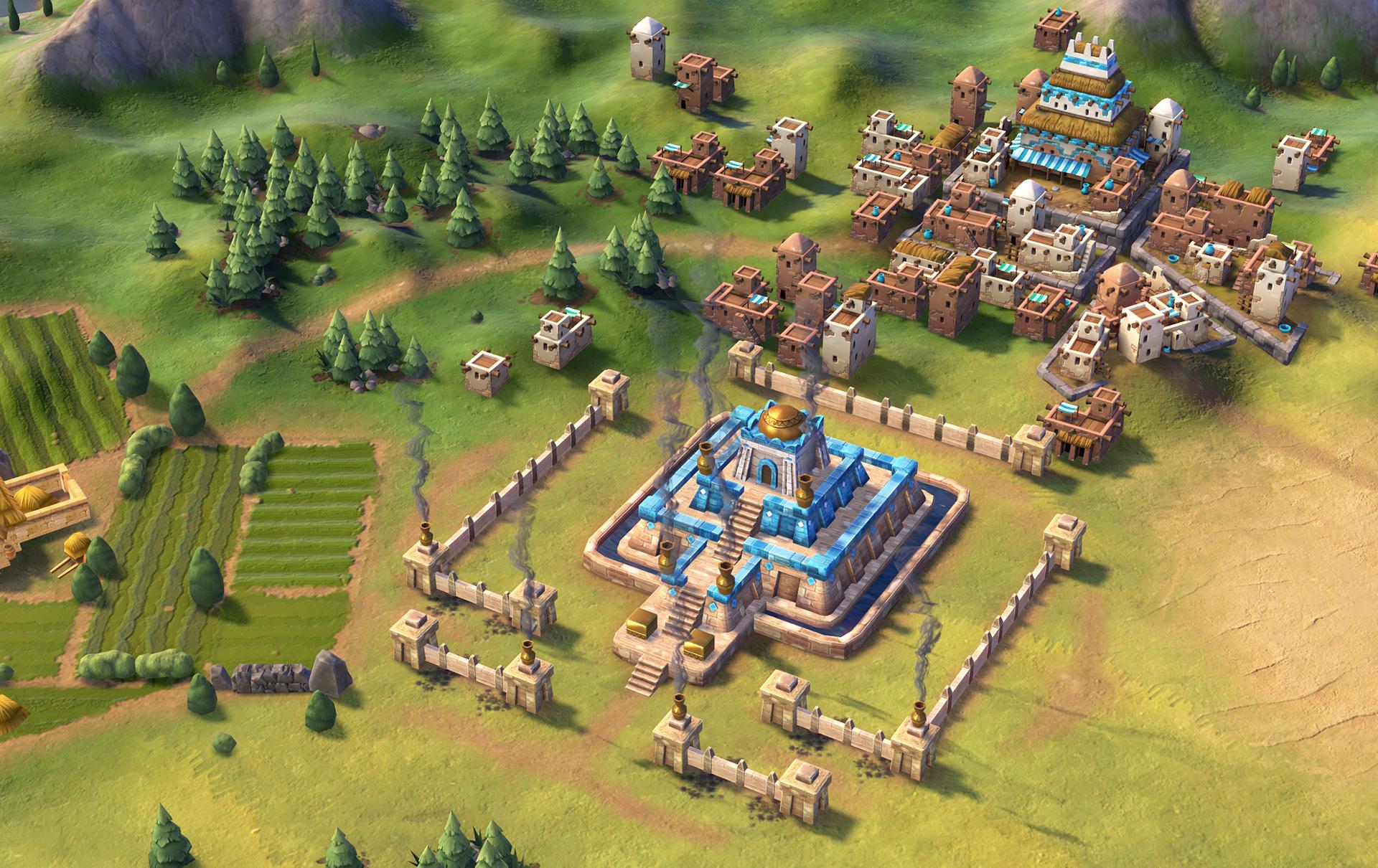 Цивилизация 6 - зиккурат