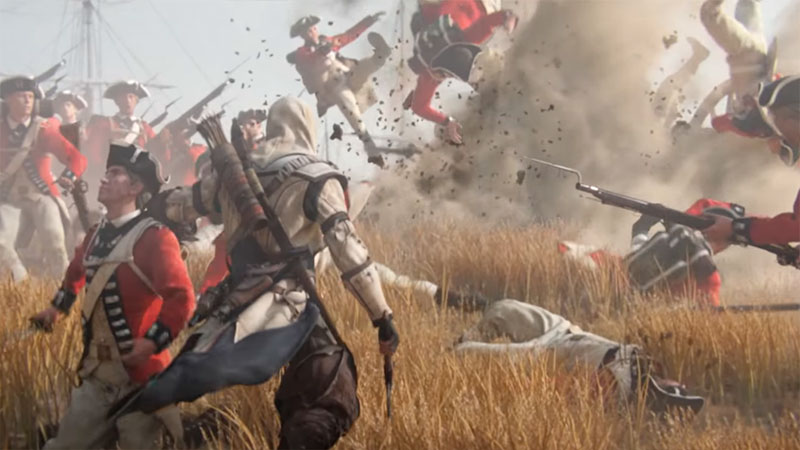 Assassin Creed 3 - поле битвы