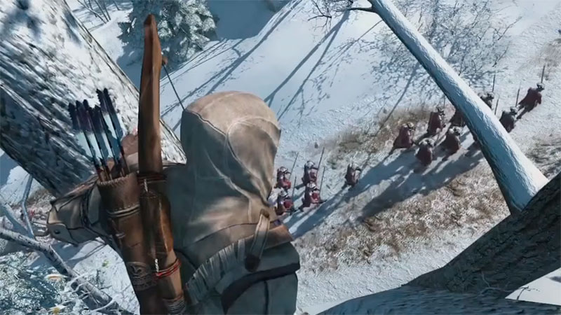 Assassin Creed 3 - снежная локация