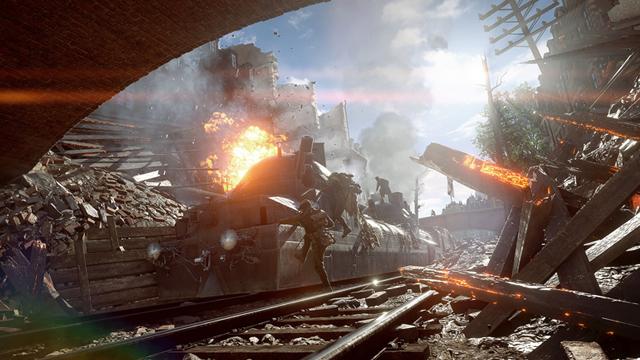 Battlefield 1 - карта Амьен