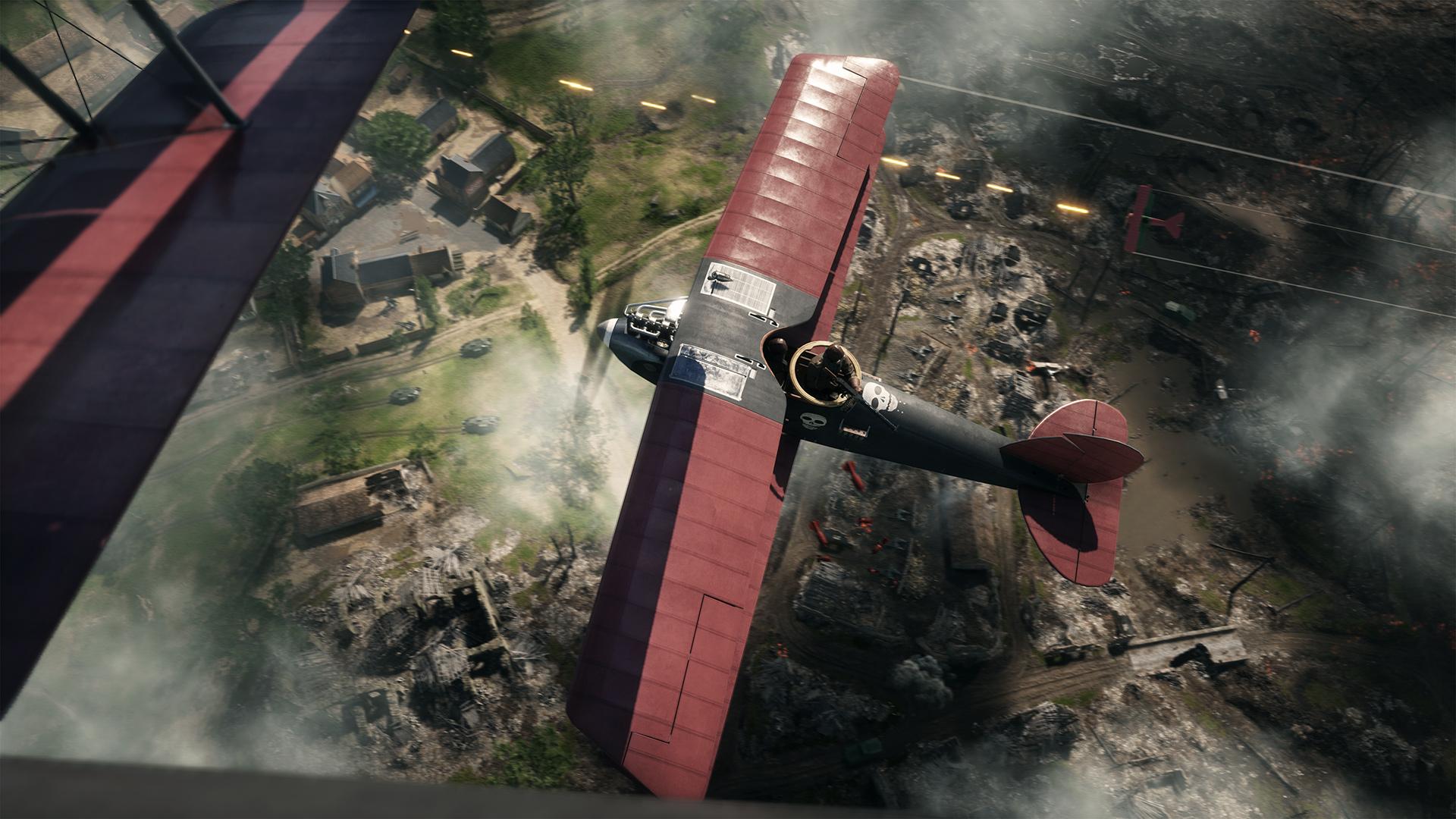 Battlefield 1 - карта Бои в Сен-Кантене