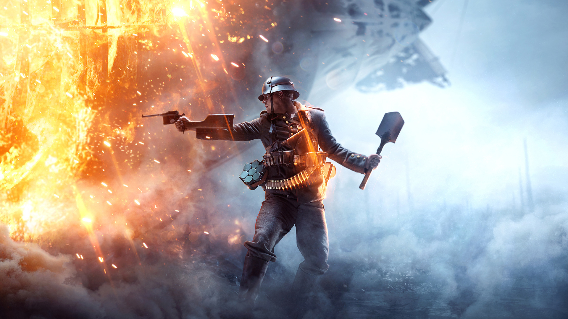 Battlefield 1 - карта Тень гиганта