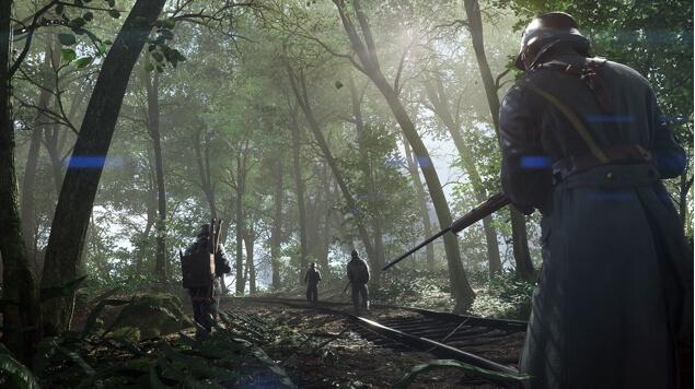 Battlefield 1 - карта Аргонский лес
