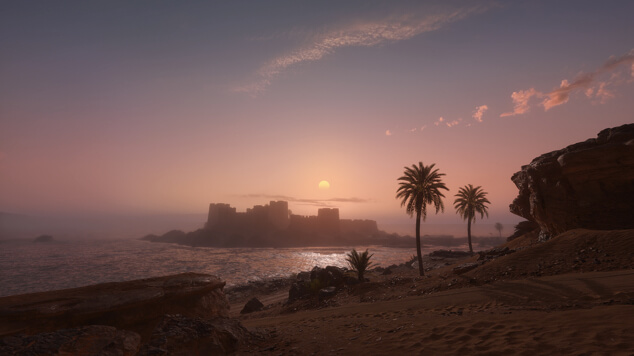 Battlefield 1 - карта крепость ФАО