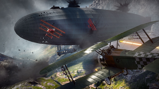 Battlefield 1 - карта Монте-Граппа