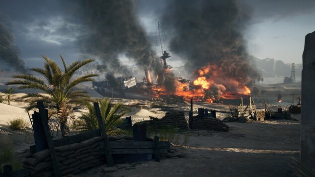 Battlefield 1 - карта Суэц