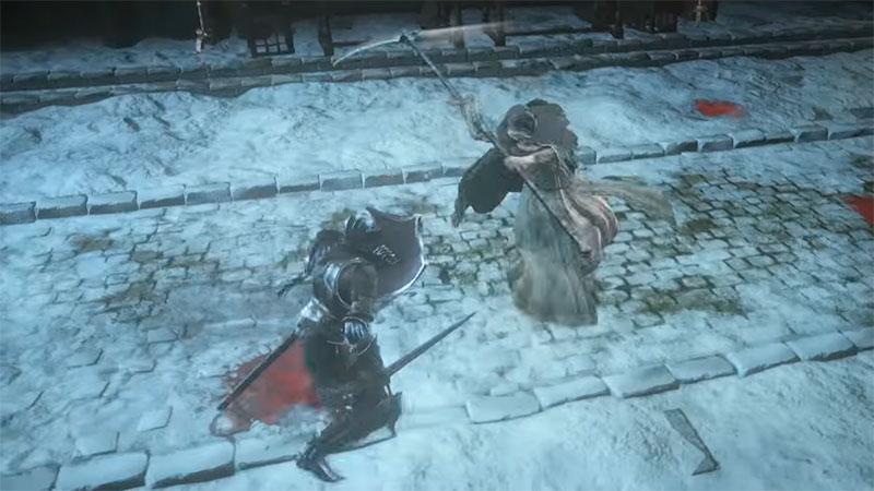 Dark Souls 3 Ashes of Ariandel - игровой босс