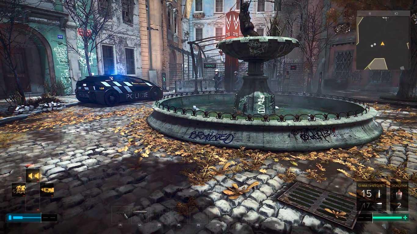 Deus Ex: Mankind Divided - обзор Праги