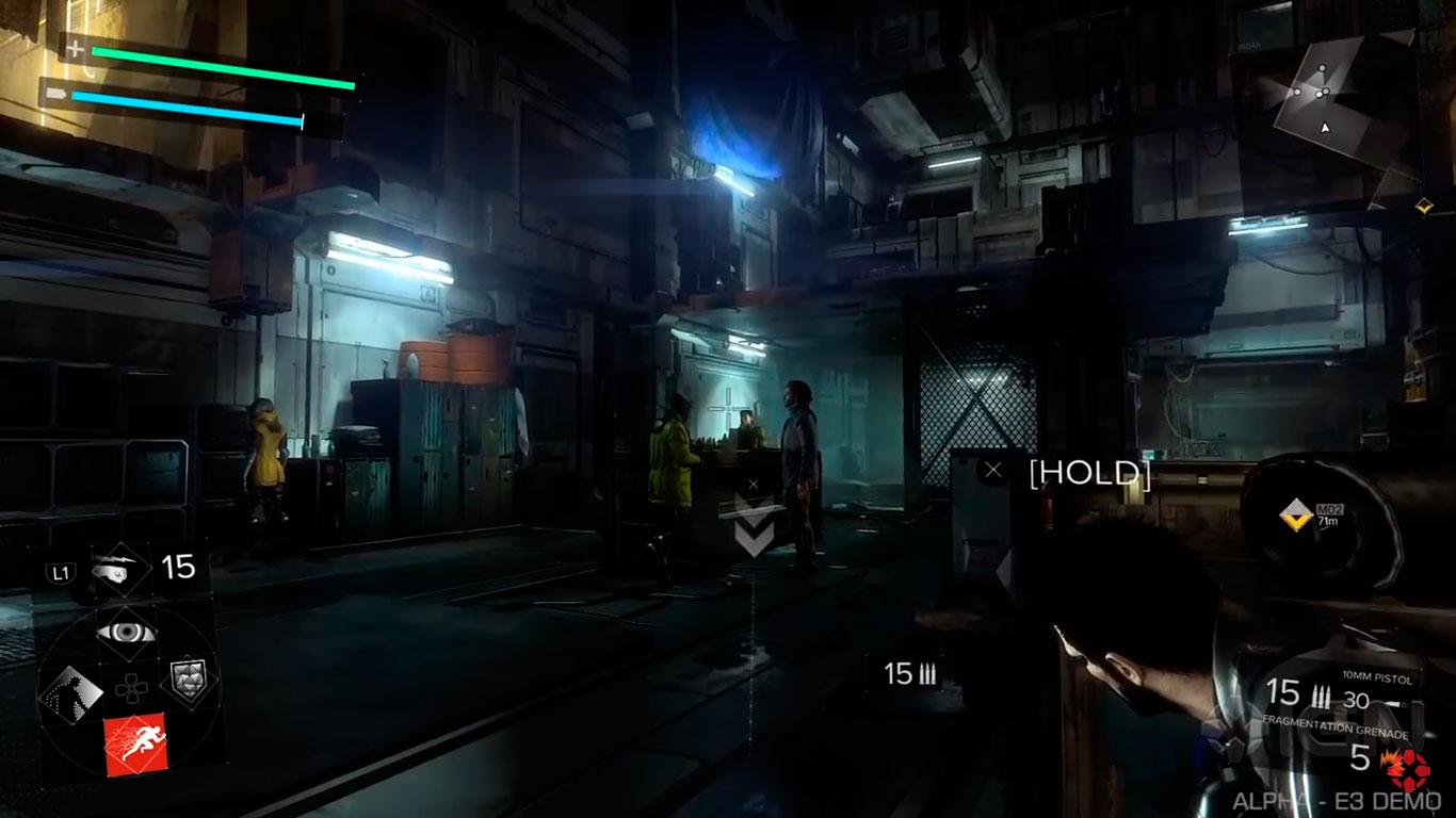 Deus Ex: Mankind Divided - обзор боя, укрытия