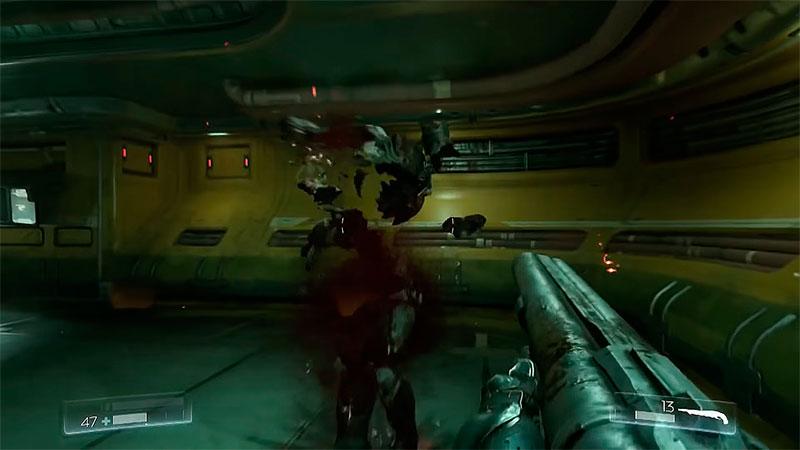 Doom 2016 геймплей 1
