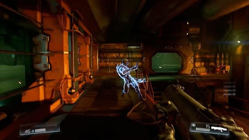 Doom 2016 геймплей 2