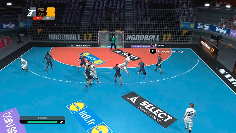 Handball 17 - Gameplay