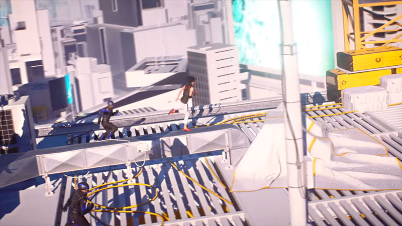 Mirror's Edge: Catalyst - бег по крыше