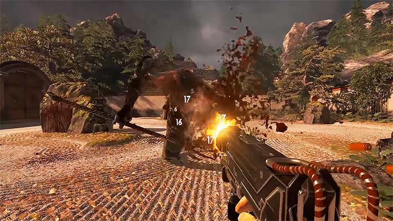Shadow Warrior 2 - расстреливаем монстров