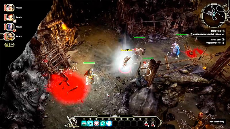 Sword Coast Legends - gameplay