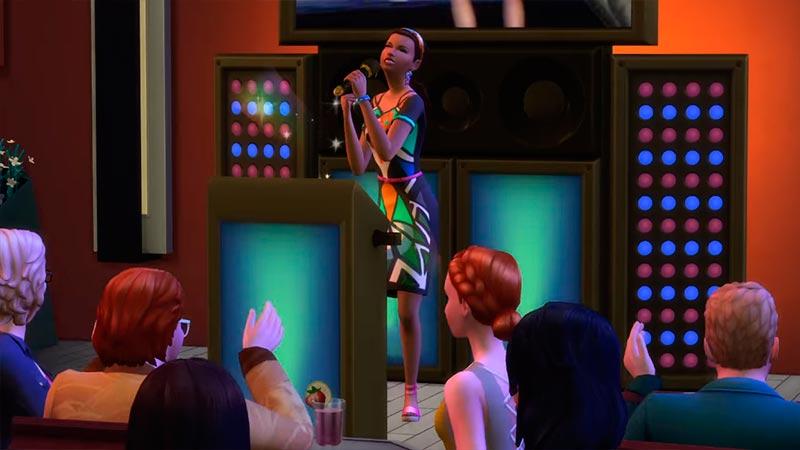 The Sims 4 Жизнь в городе - караоке