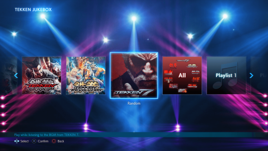 BNEA TEKKEN7 PS Jukebox Screenshot01