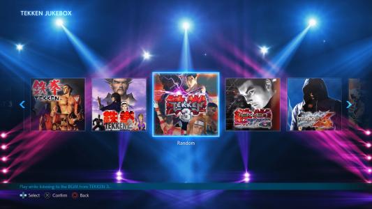BNEA TEKKEN7 PS Jukebox Screenshot02