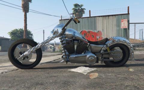 Мод Призрачный гонщик для GTA 5 скриншот 4