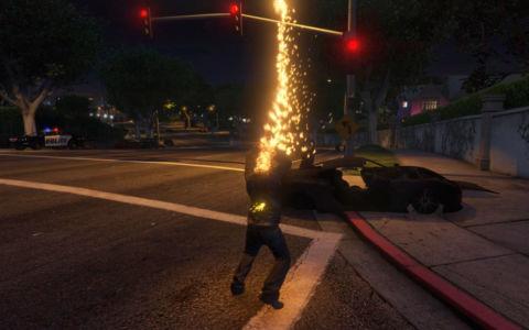 Мод Призрачный гонщик для GTA 5 скриншот 5
