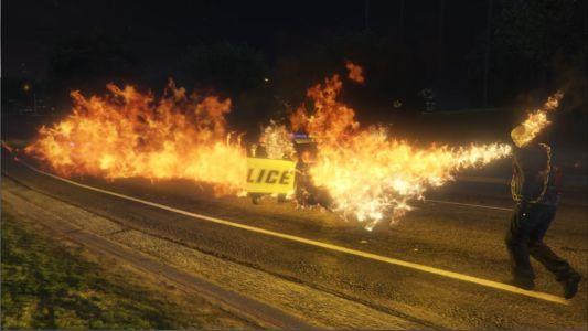 Мод Призрачный гонщик для GTA 5 скриншот 7