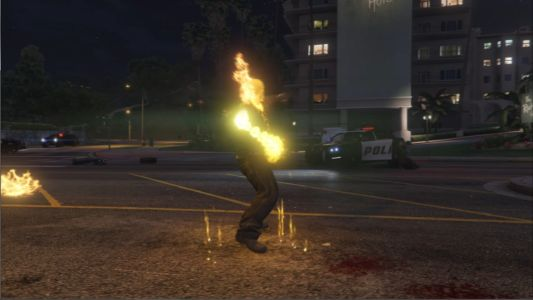 Мод Призрачный гонщик для GTA 5 скриншот 8