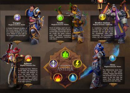 Скриншот Champions of Anteria