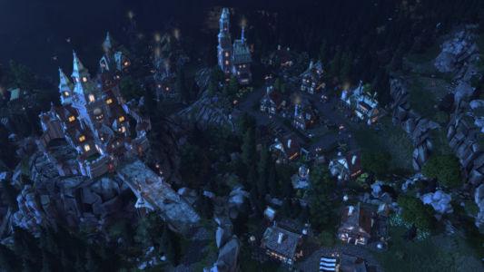 Скриншот Champions of Anteria Village-Night
