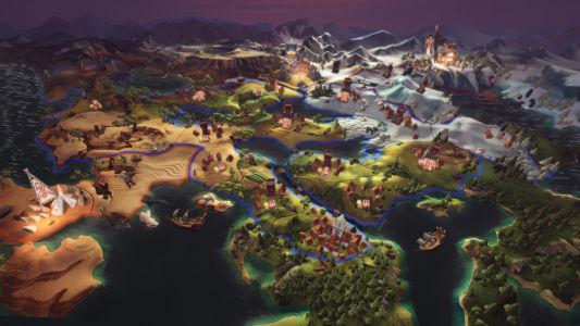 Скриншот Champions of Anteria worldmap2