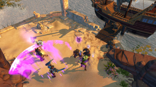 Скриншот Champions of Anteria pirates