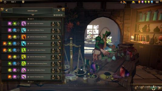 Скриншот Champions of Anteria homebase-inside