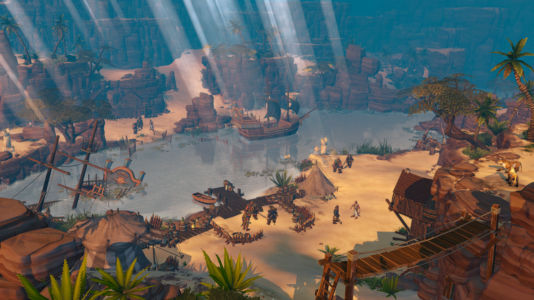 Скриншот Champions of Anteria desert