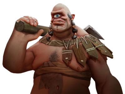 Скриншот Champions of Anteria renders cyclops