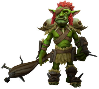 Скриншот Champions of Anteria renders goblin