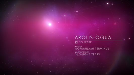 Скриншот No Man's Sky - GalacticMap