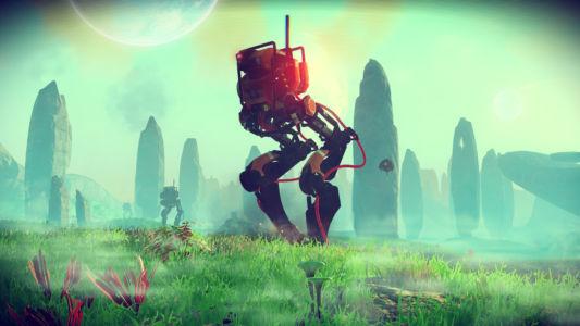 Скриншот No Man's Sky - OvalWalker