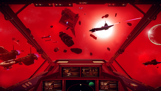 Скриншот No Man's Sky - RedSpace