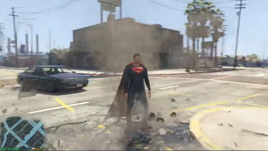 Superman-gta-5-mod-screenshot-1