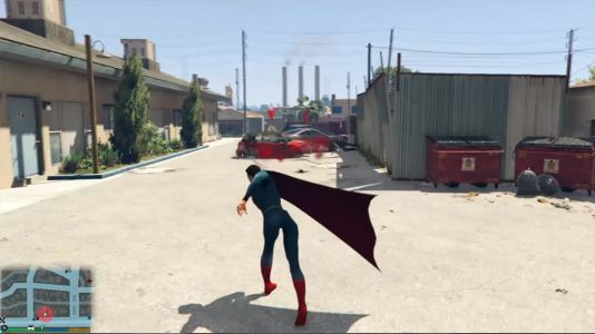 Superman-gta-5-mod-screenshot-2