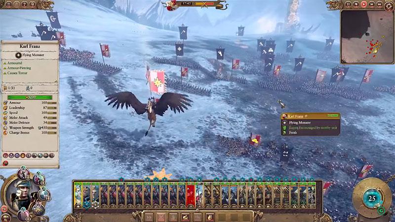 Total War: Warhammer - поле битвы