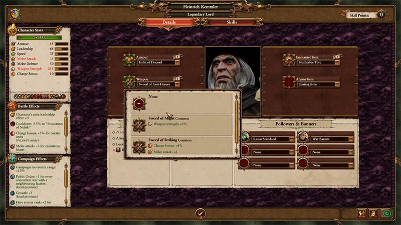 Total War: Warhammer - умения