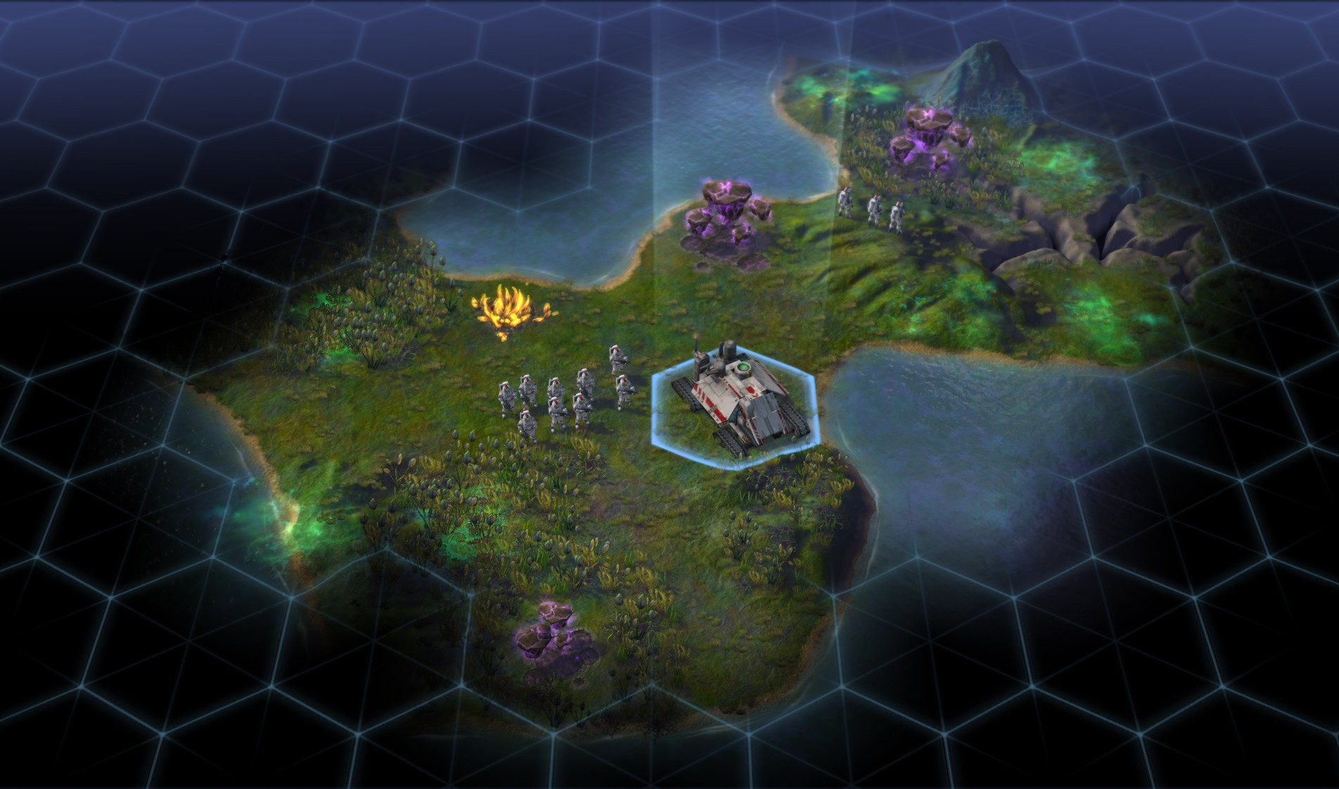 Sid Meier's Civilization: Beyond Earth скриншот 1