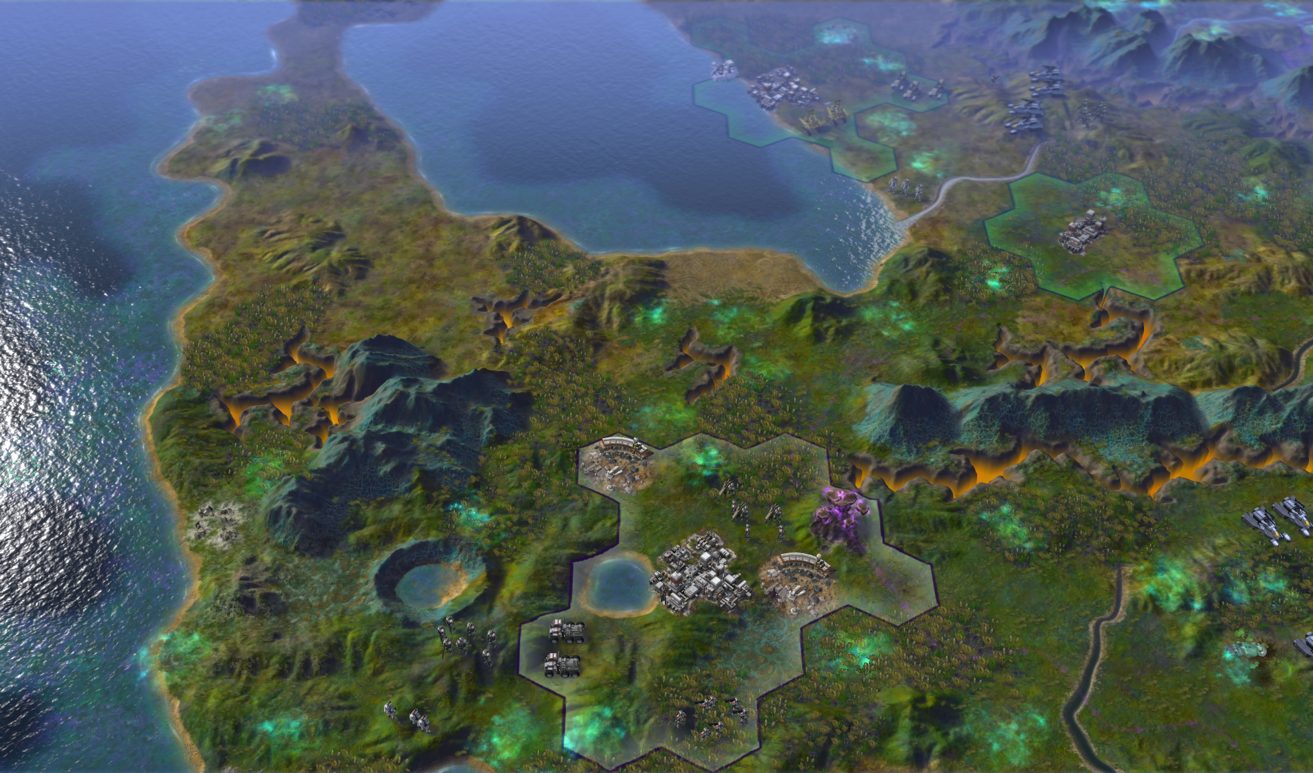 Sid Meier's Civilization: Beyond Earth скриншот 2