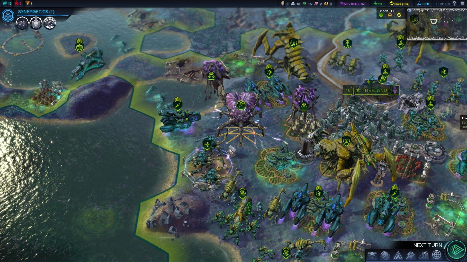 Sid Meier's Civilization: Beyond Earth скриншот 5