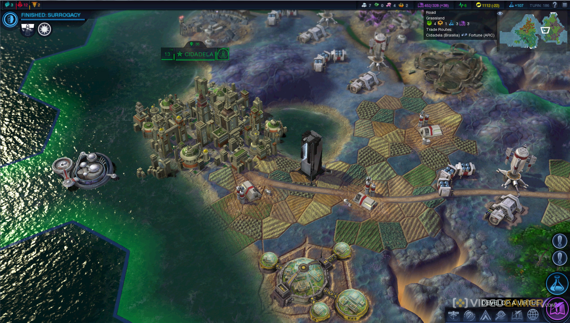 Sid Meier's Civilization: Beyond Earth скриншот 3