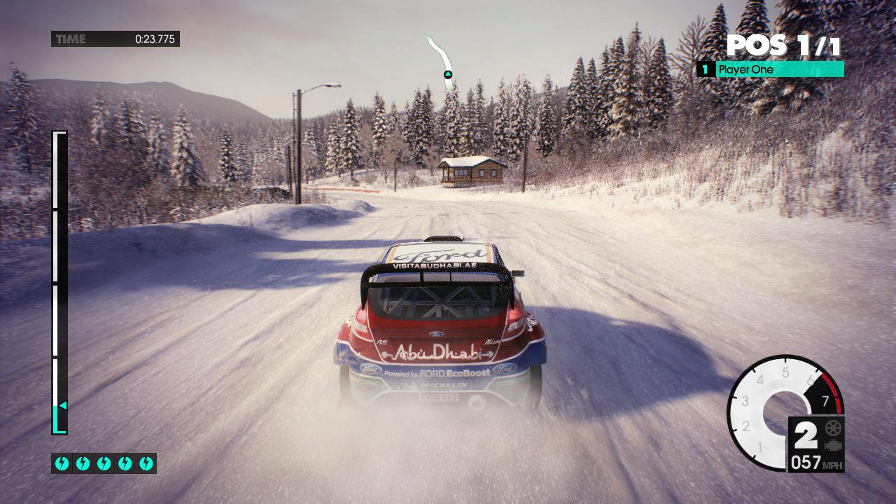 DiRT 3 - game screenshot1